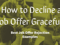 How to Decline a Job Offer Gracefully | Best Job Offer Rejection Examples